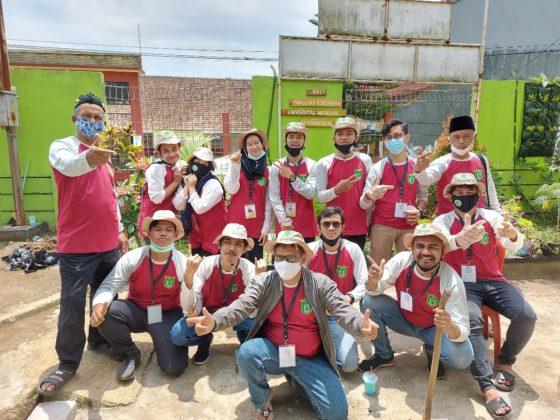 KKL Mahasiwa Pertanian Unas di Sukabumi
